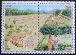Poštovní známky OSN Ženeva 1986 Lesnictví Mi# 138-41
