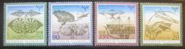 Poštovní známky DDR 1990 Létající stroje Mi# 3311-14