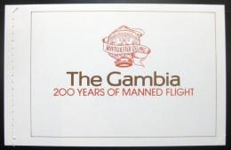 Sešitek Gambie 1983 Letectví Mii# 491-95