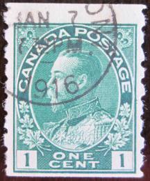 Poštovní známka Kanada 1911 Král Jiøí V. Mi# 92bD