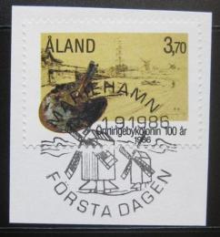 Poštovní známka Alandy 1986 Umìlecká kolonie Mi# 19
