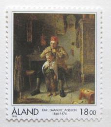 Poštovní známka Alandy 1996 Holièství, Jansson Mi# 116
