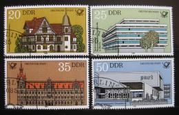 Poštovní známky DDR 1982 Pošty Mi# 2673-76