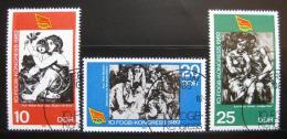 Poštovní známky DDR 1982 Umìní Mi# 2699-2701