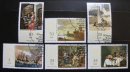 Poštovní známky DDR 1982 Umìní Mi# 2726-31
