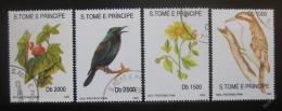 Poštovní známky Svatý Tomáš 1992 Ptáci Mi# 1330-33 Kat 40€