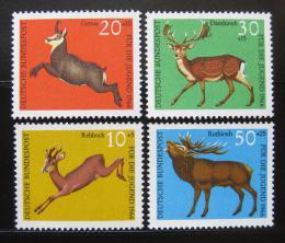 Poštovní známky Nìmecko 1966 Fauna Mi# 511-14