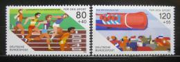 Poštovní známky Nìmecko 1986 Evropská mistrovství Mi# 1269-70 Kat 5€