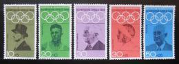 Poštovní známky Nìmecko 1968 LOH Mexiko Mi# 561-65