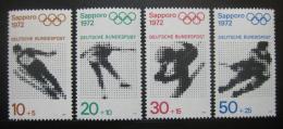 Poštovní známky Nìmecko 1971 ZOH Sapporo Mi# 680-83 Kat 4.50€
