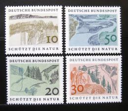 Poštovní známky Nìmecko 1969 Ochrana pøírody Mi# 591-94