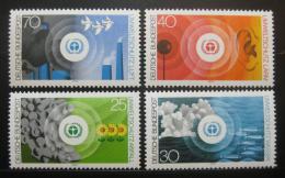 Poštovní známky Nìmecko 1973 Životní prostøedí Mi# 774-77