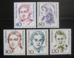 Poštovní známky Nìmecko 1986-87 Slavné ženy
