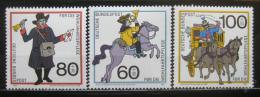 Poštovní známky Nìmecko 1989 Historie pošty Mi# 1437-39 Kat 8€