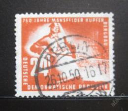 Poštovní známka DDR 1950 Tavba mìdi Mi# 274 Kat 15€