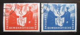 Poštovní známky DDR 1951 Prezidenti Mi# 284-85 Kat 35€