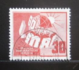 Poštovní známka DDR 1950 Výroèí dne práce Mi# 250 Kat 35€