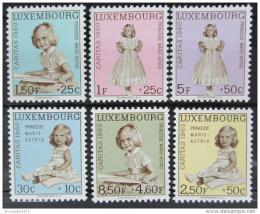Poštovní známky Lucembursko 1960 Marie-Astrid Mi# 631-36