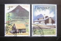 Poštovní známky Faerské ostrovy 1990 Evropa CEPT, pošty Mi# 198-99