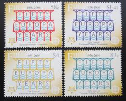 Poštovní známky Fidži 2005 Výroèí Evropa CEPT Mi# 1109-12