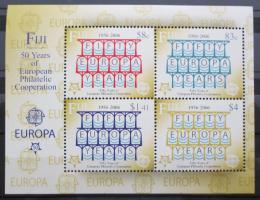 Poštovní známky Fidži 2005 Výroèí Evropa CEPT Mi# Block 48