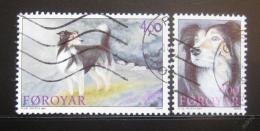 Poštovní známky Faerské ostrovy 1994 Psi Mi# 262-63