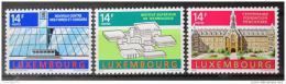 Poštovní známky Lucembursko 1992 Architektura Mi# 1288-90