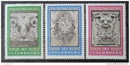 Poštovní známky Lucembursko 1992 Architektura Mi# 1299-1301