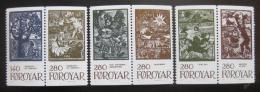 Poštovní známky Faerské ostrovy 1984 Pohádky, páry Mi# 106-11 Kat 32€