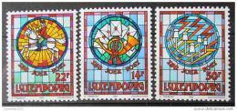 Poštovní známky Lucembursko 1992 Umìní Mi# 1302-04