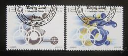 Poštovní známky Lichtenštejnsko 2008 Paralympiáda Mi# 1487-8