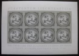 Poštovní známky Lichtenštejnsko 2010 Fresky, èernotisk Mi#1556