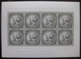Poštovní známky Lichtenštejnsko 2010 Fresky, èernotisk Mi#1555