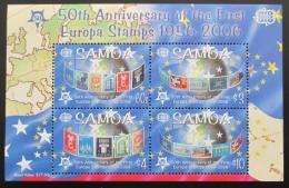 Poštovní známky Samoa 2005 Výroèí Evropa CEPT Mi# Block 75