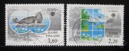 Poštovní známky Finsko 1986 Evropa CEPT Mi# 985-86