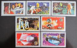 Poštovní známky Rovníková Guinea 1972 Apollo 15 Mi# 18-24