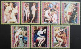 Poštovní známky Rovníková Guinea 1973 Umìní, Rubens Mi# 285-91