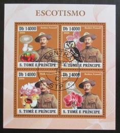 Poštovní známky Svatý Tomáš 2006 Skauting Mi# 2854-57 16€ - zvìtšit obrázek