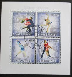 Poštovní známky Svatý Tomáš 2006 ZOH Turín, krasobruslení Mi# 2734-37