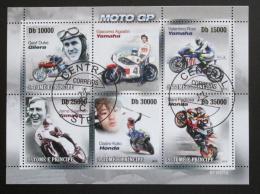 Poštovní známky Svatý Tomáš 2010 Motocykly Mi# 4406-10