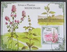 Poštovní známka Svatý Tomáš 2009 Léèivé rostliny Mi# Block 732