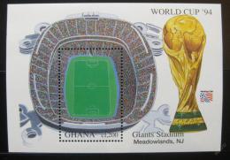 Poštovní známka Ghana 1994 MS ve fotbale Mi# Block 259