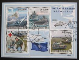 Poštovní známky Svatý Tomáš 2009 NATO, 60. výroèí Mi# 4098-4101