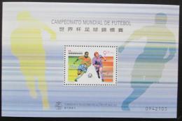 Poštovní známka Macao 1998 MS ve fotbale Mi# Block 56