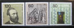 Poštovní známky Nìmecko 1984 Kongres UPU Mi# 1215-17