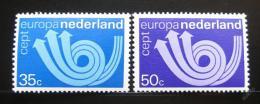 Poštovní známky Nizozemí 1973 Evropa CEPT Mi# 1011-12