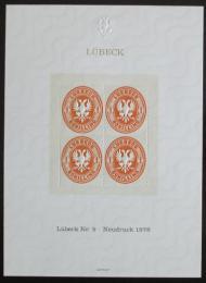 Vinìta Nìmecko Lubeck 1978 Novotisk známky Mi# 9