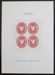 Vinìta Nìmecko 1978 Novotisk známky Lubeck Mi# 10