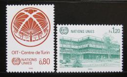 Poštovní známky OSN Ženeva 1985 Centrum v Turínì Mi# 127-28