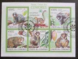 Poštovní známky Komory 2009 Lemuøi Mi# 2460-64